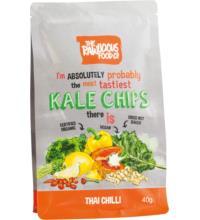 Rawlicious KALE Grünkohlchips Thai Chilli, 40 gr Packung
