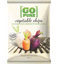 Go Pure Gemüse-Chips, 90 gr Packung