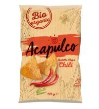 Acapulco Tortilla Chips Chili, 125 gr Packung