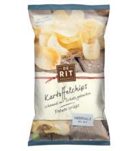 De Rit Kartoffelchips Meersalz, 125 gr Packung