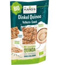 DR. KARG Knäckebrot Snack Dinkel Quinoa, 110 gr Beutel