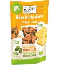 DR. KARG Knäcke Snack Käse Kürbiskern, 110 gr Beutel