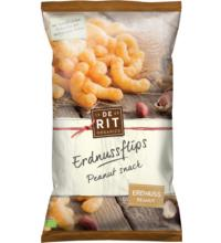 De Rit Erdnussflips - Peanut Snack, 125 gr Packung