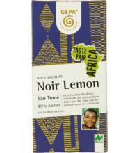 Gepa Noir Lemon Sao Tomé 85%, 80 gr Stück