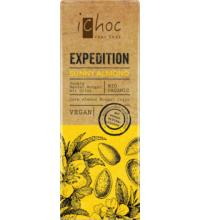 iChoc Expedition Sunny Almond, 50 gr Stück -vegan-