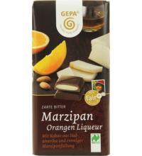 Gepa Zarte Bitter Marzipan Orangen Liqueur, 100 gr Stück