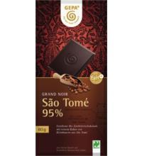 Gepa Grand Noir Sao Tomé 95%, 80 gr Stück