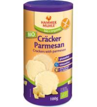 Hammermühle -glutenfrei- Parmesan-Cräcker, 100 gr Dose -glutenfrei-