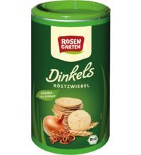 Rosengarten Dinkels Röstzwiebel Cräcker, 100 gr Dose