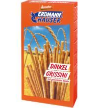 Erdmannh Dinkel - Grissini, mit geröstetem Sesam, 100 gr Packung