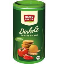 Rosengarten Dinkels Tomate - Cräcker, 100 gr Dose