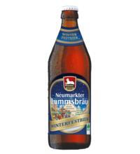 Neumarkter Lammsbräu Winterfestbier, 0,5 ltr Flasche