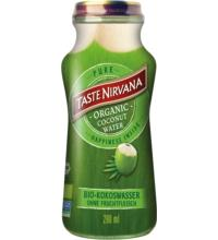 Taste Nirvana Coconut Water Pure, 0,28 ltr Flasche