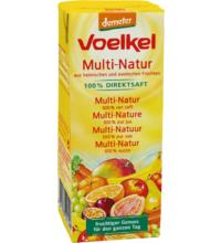 Voelkel Multi-Natur im TetraPack, 200 ml Stück