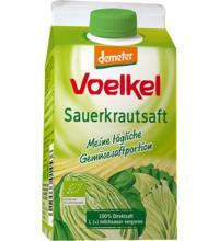 Voelkel Sauerkrautsaft milchsauer vergoren, 0,5 ltr Elopak