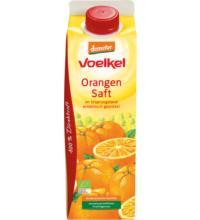 Voelkel Orangensaft - 100%, 1 ltr Stück