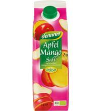 dennree Apfel-Mango-Saft Elopak, 1 ltr Stück