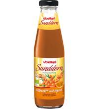 Voelkel Sanddorn Vollfrucht mit Agave, 0,5 ltr Flasche