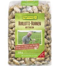 Rapunzel Borlotti Bohnen aus Italien, 250 gr Packung
