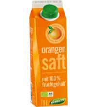 dennree Orangensaft aus Orangensaftkonzentrat, 1 ltr Elopak