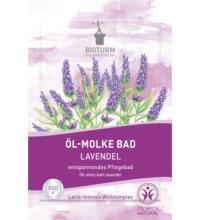 Bioturm Öl-Molke Bad Lavendel, 30 ml Beutel
