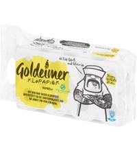 Wepa Goldeimer Toilettenpapier, 3-lagig, 150 Blatt, 8 Rollen
