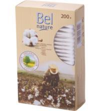 Bel Nature Bio-Wattestäbchen, 200 St Packung