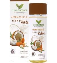 Cosnature Aroma-Pflege-Öl Mandel & Kokos, 100 ml Flasche
