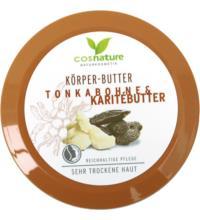 Cosnature Körperbutter Tonkabohne & Karitébutter, 200 ml Tiegel