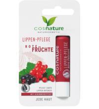Cosnature Lippenpflege Rote Früchte, 4,8 gr Stück
