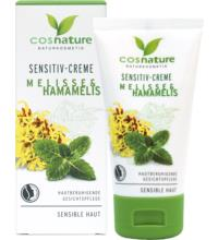 Cosnature Sensitiv-Creme Melisse & Hamamelis, 50 ml Tube