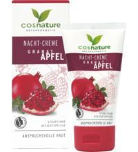 Cosnature Nachtcreme Granatapfel, 50 ml Tube