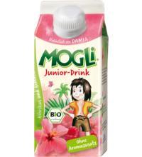 Mogli Junior Drink Hibiskustee mit Mehrfruchtsaft, 0,33 ltr Stück