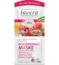 lavera Regenerierende Maske, 2x 5 ml Beutel