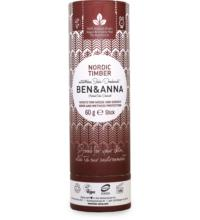 Ben & Anna Deo Nordic Timber, 60 gr Spender