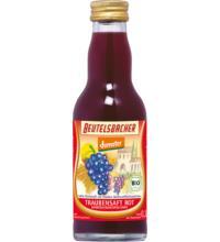 Beutelsbacher Trauben Direktsaft rot, 0,2 ltr Flasche