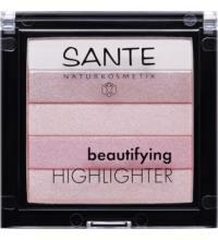 Sante Beautifying Highlighter 02 Rose, 7 gr Stück