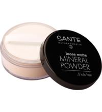 Sante Loose Matte Mineral Powder talc free 02 Sand, 12 gr Stück