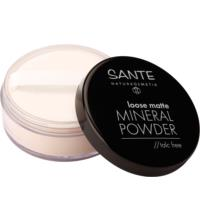 Sante Loose Matte Mineral Powder talc free 01 Light Beige, 12 gr Stück