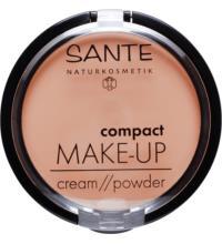 Sante Compact Make up Cream/Powder 01Vanilla, 9 gr Stück