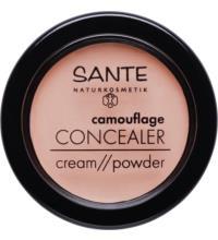 Sante Camouflage Concealer 01 Beige, 3,4 ml Stück