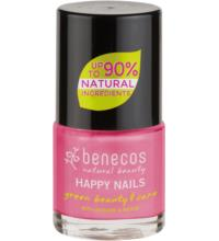 benecos Nail Polish pink forever, 9 ml Flasche