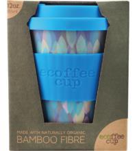 ecoffee cup To-Go-Becher Sakura Blue, 355 ml, 1 Stück