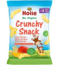 Holle Crunchy Snack Hirse Mango, 25 gr Packung