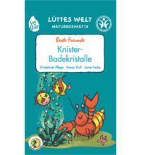 Lüttes Welt Knister-Badekristalle Beste Freunde, 80 gr Stück