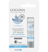 Logona Feuchtigkeitsspendender Lip Balm, Hyaluron, 4,5 gr Stück