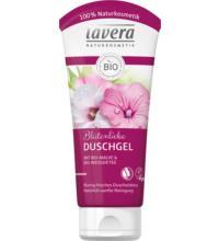 lavera Blütenliebe Duschgel Malve & Weißer Tee, 200 ml Tube
