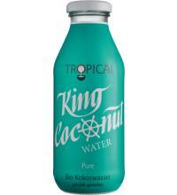 Tropicai Kokoswasser Pure, 0,35 ltr Flasche