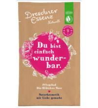 Dresdner Essenz Pflegebad Schön, dass es dich gibt!, 60 gr Beutel