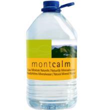 Montcalm Natürliches Mineralwasser, 5 ltr Flasche